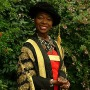 Floella Benjamin in her robes